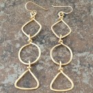Geometric 14K Gold Filled Earrings