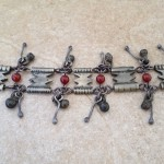 Boho Chic Bracelet with Carnelian and Charms
